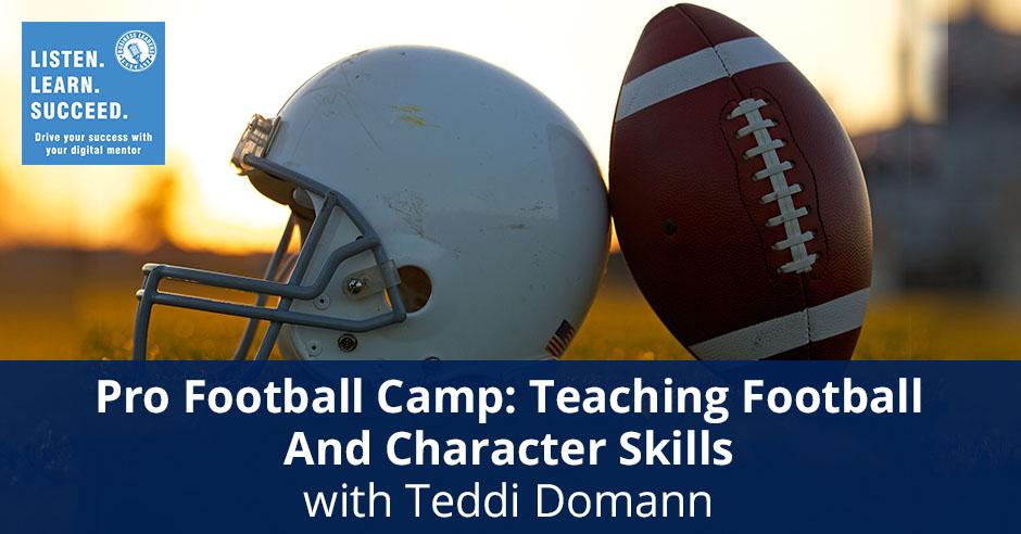 BLP Tedd Domann   Pro Football Camp