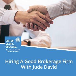 BLP David | Hiring A Brokerage Firm