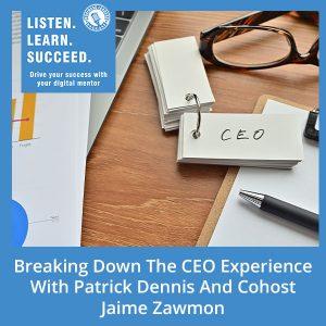 BLP Patrick | CEO Experience