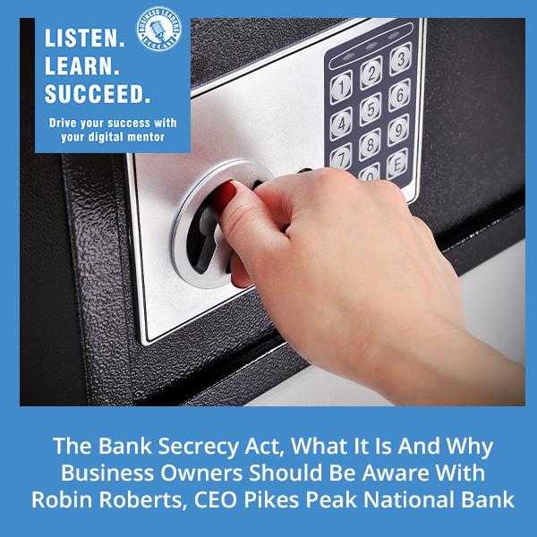 BLP Robin   Bank Secrecy Act